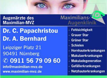 Maximilian-mvz – Dr. med. Chrissi Papachristou, Dr. med. Adrian Bernhard