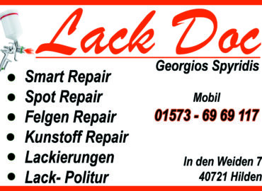 Βαφείο αυτοκινήτων -Lack Doc  Georgios Spyridis (Hilden, Nordrhein- Westfalen)